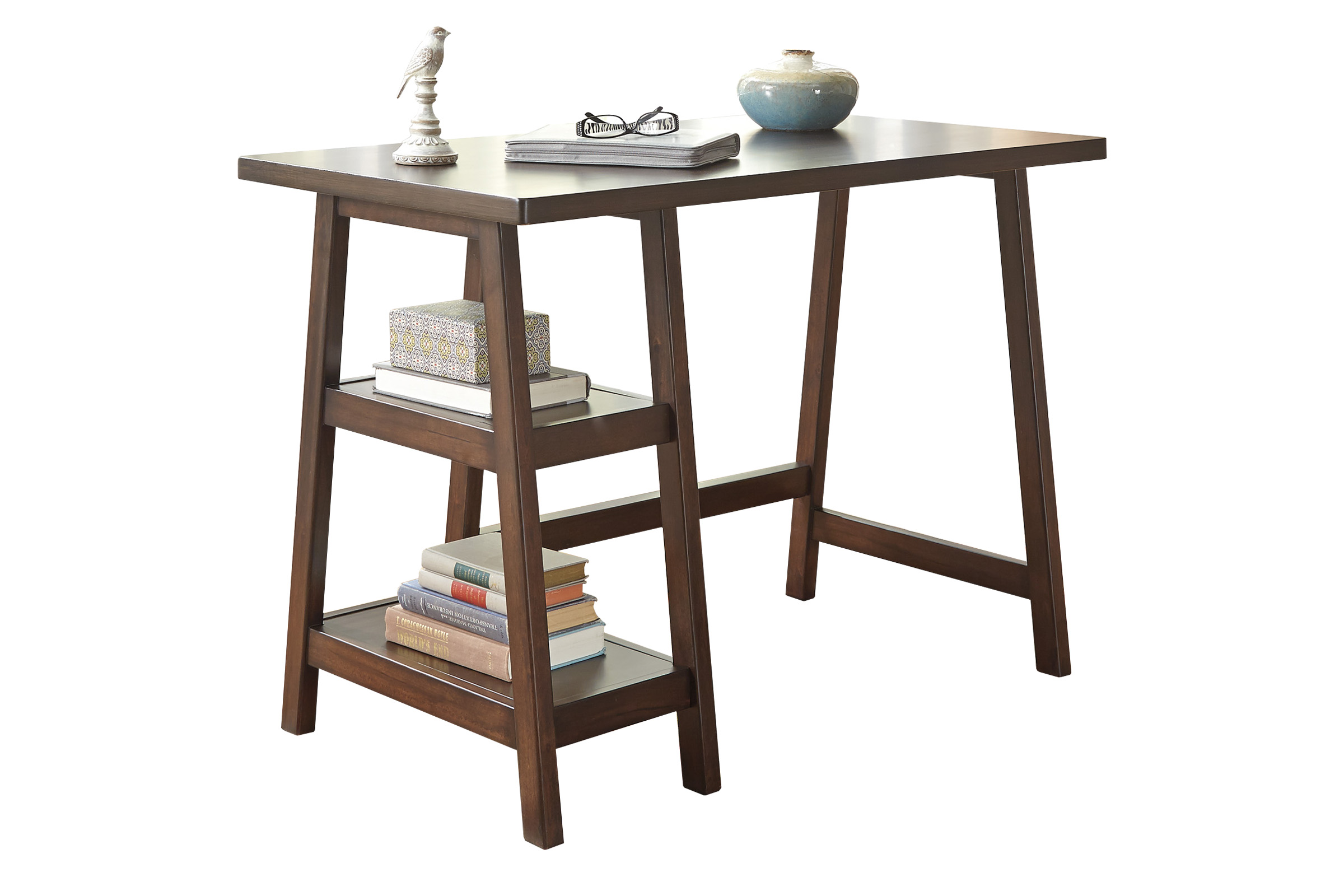 home office small desk h309 10 save 14999 online only 17999 free shipping baybrin rustic brown home office small