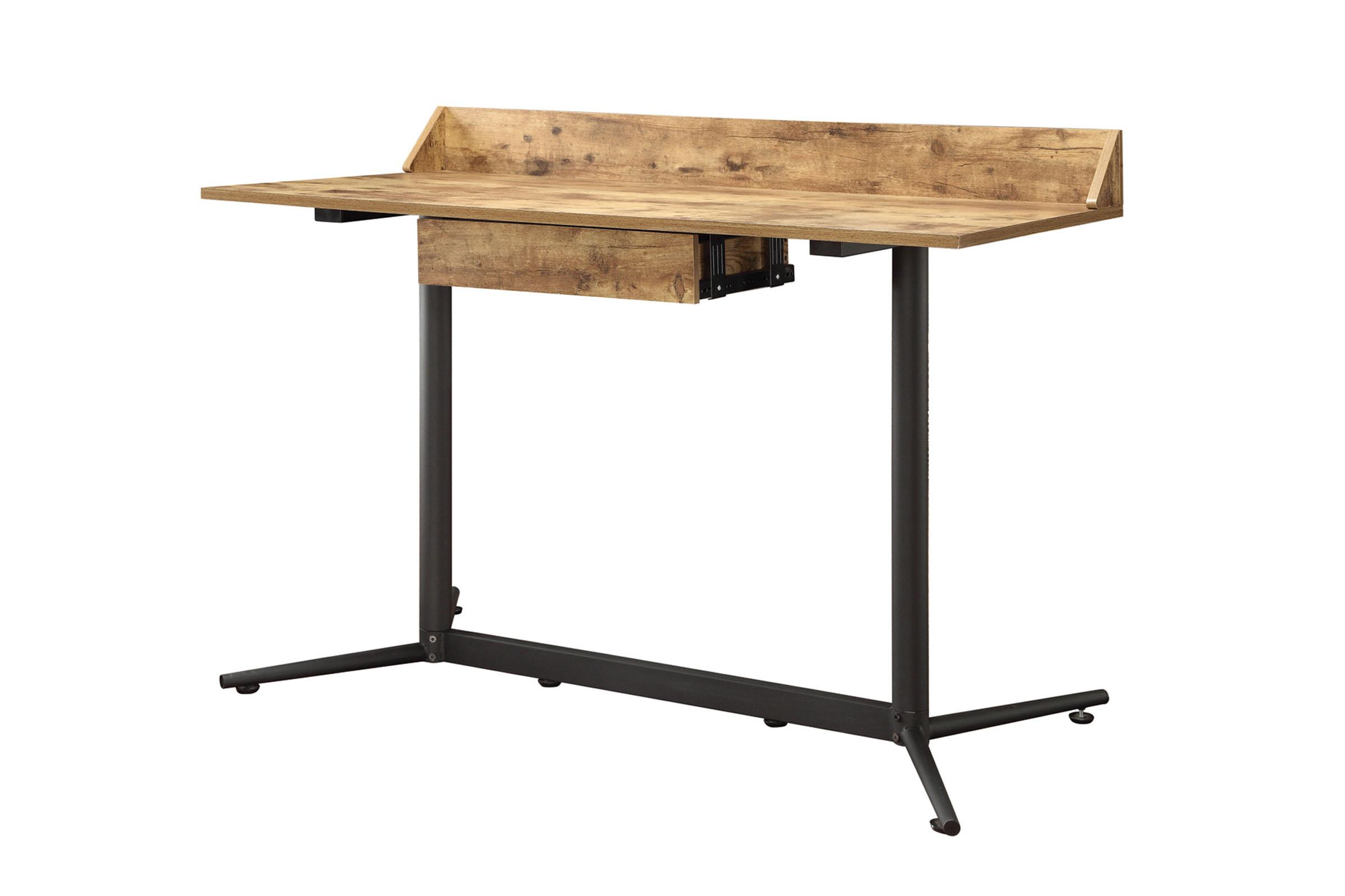 Industrial Style Computer Desk 801218 at Gardner-White