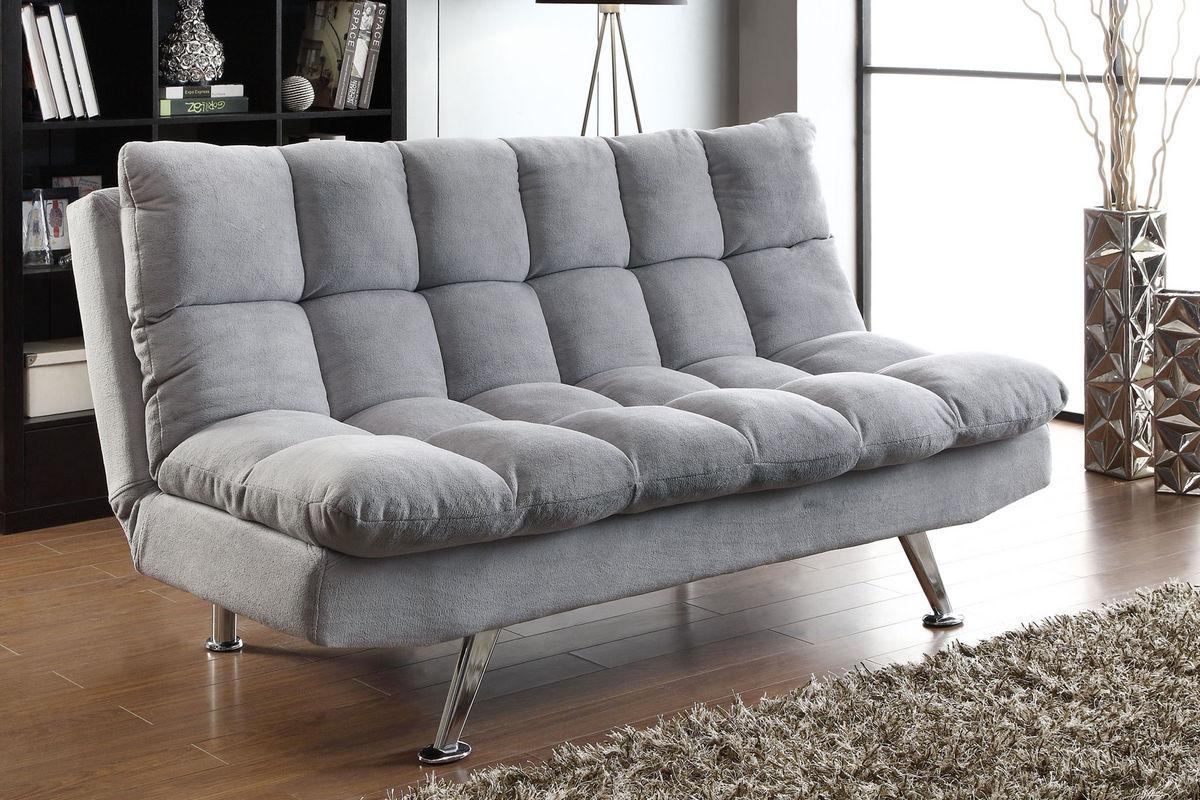 Grey Futon 500775 At Gardner White