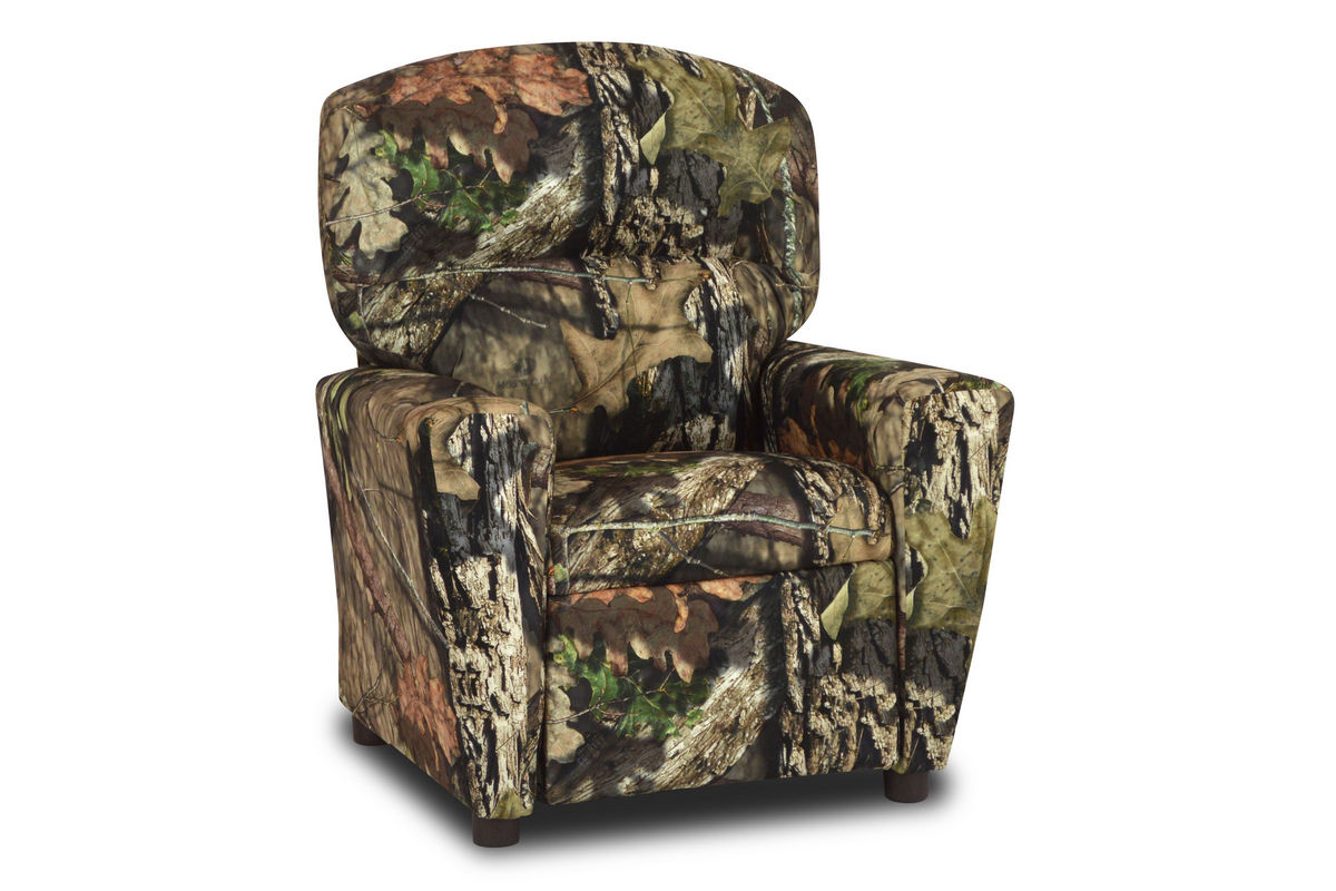 Kids' Recliner with Cupholder in Mossy Oak Country by