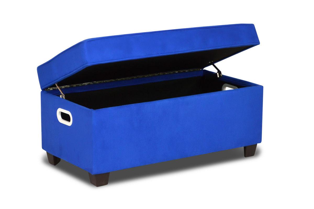 Zippity Kids Jack Storage Bench Ocean Blue
