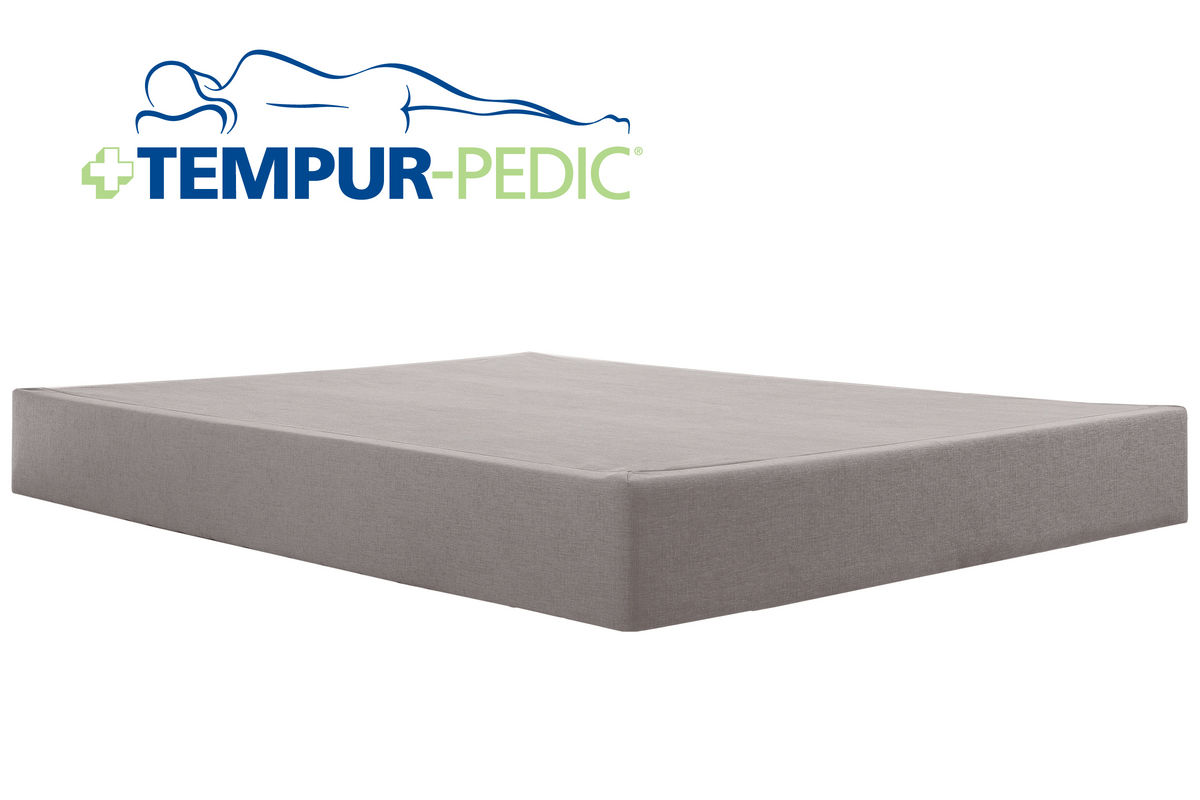 Tempur pedic queen high profile flat foundation for Gardner white credit