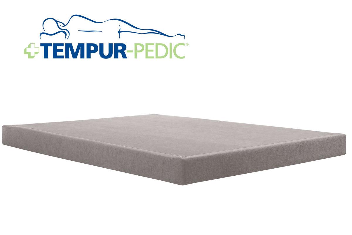 Tempur pedic twin xl king split low profile flat foundation for Gardner white credit