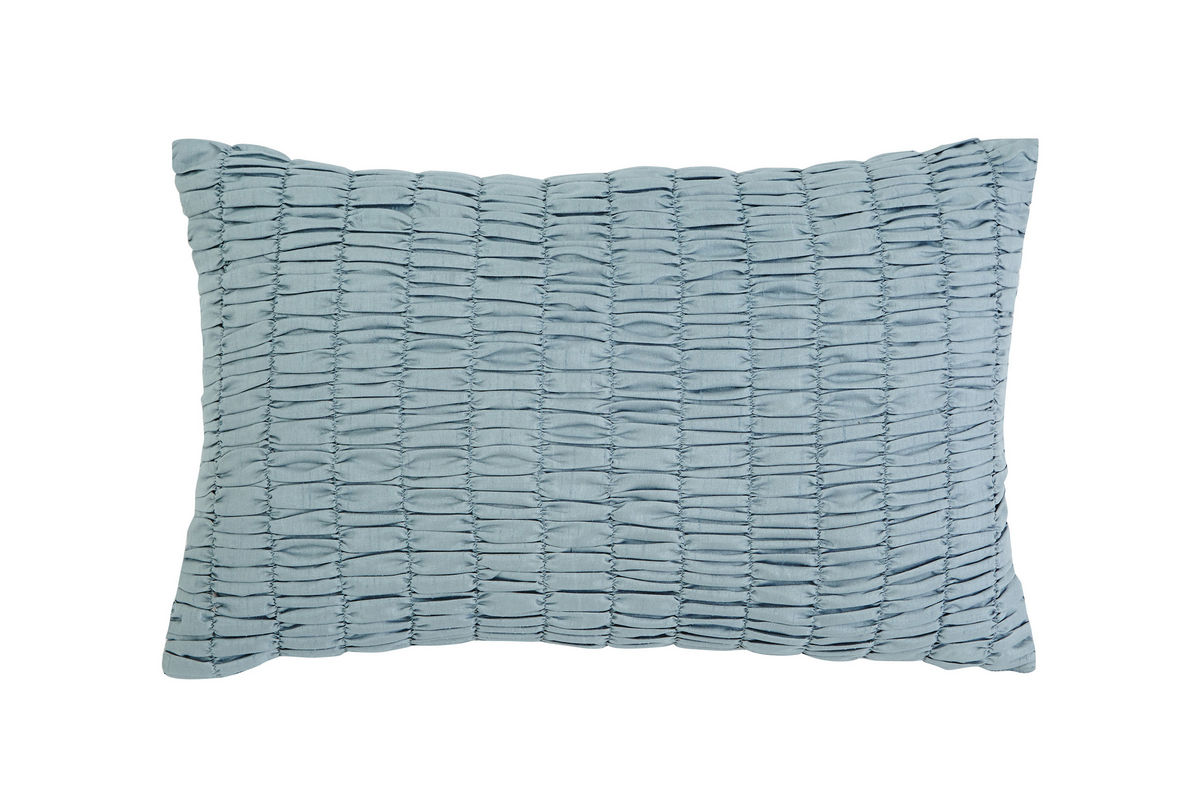 Ashley Stitched Sky Blue Accent Pillow At Gardner-White