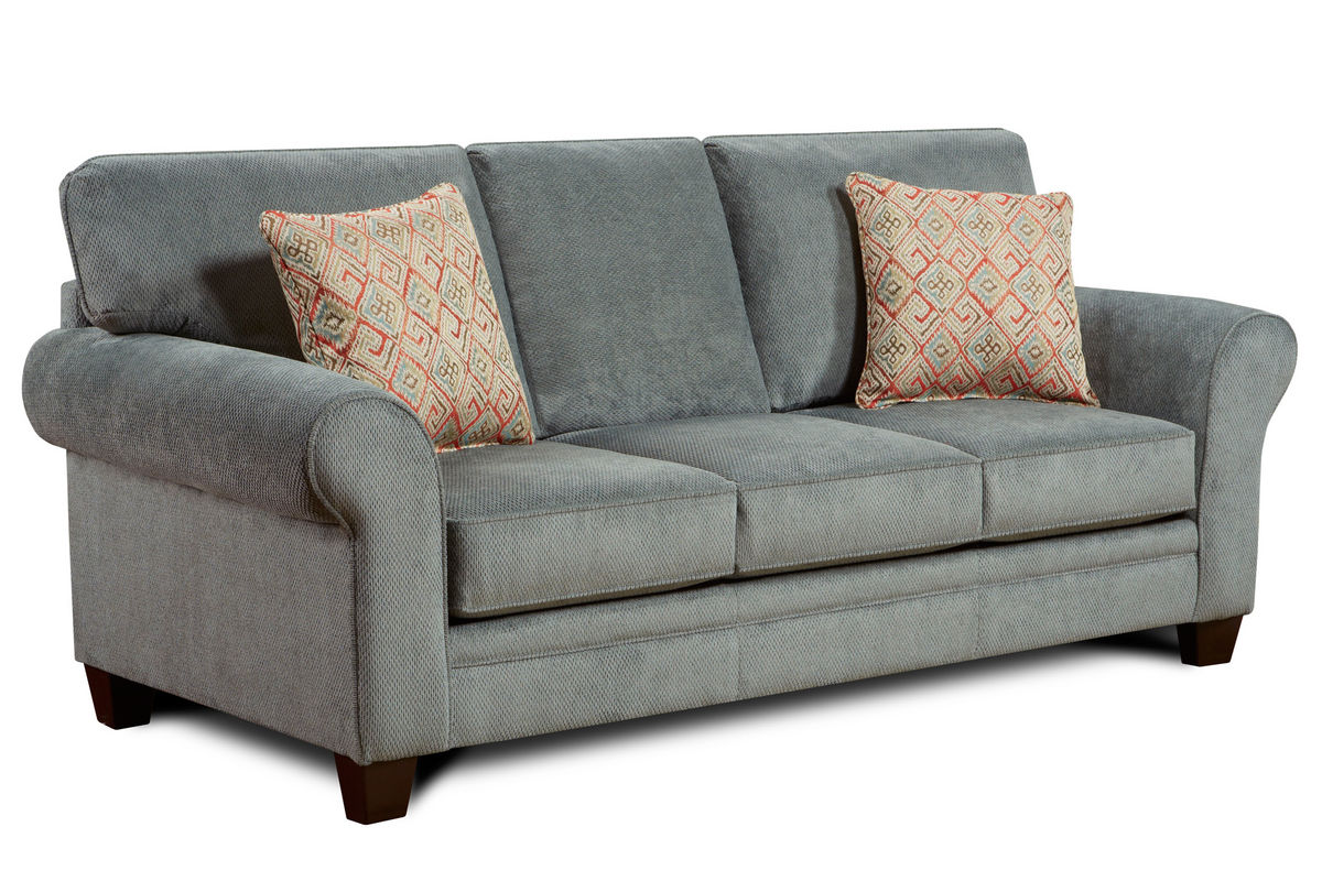 Gazelle microfiber sofa at gardner white for Microfiber sectional sofa
