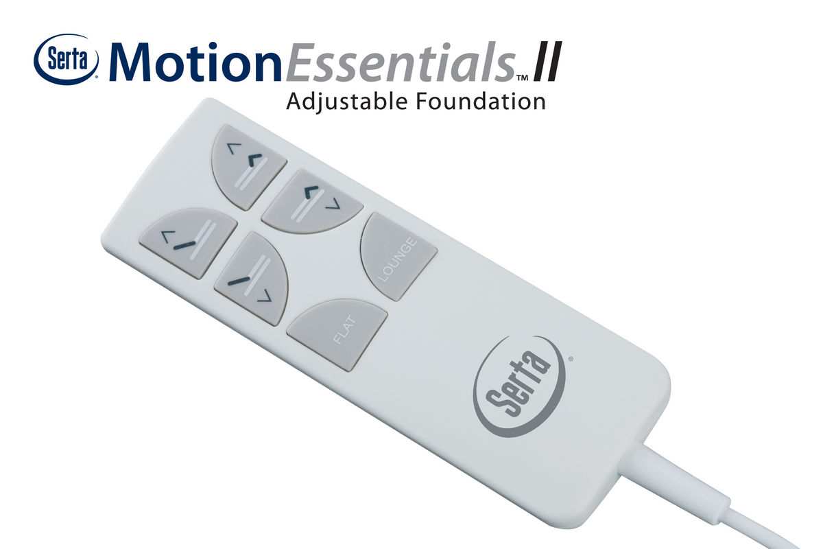 Serta 174 Motion Essentials Ii Queen Adjustable Foundation