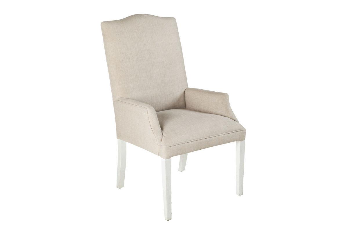 Surya Linen Accent Chair