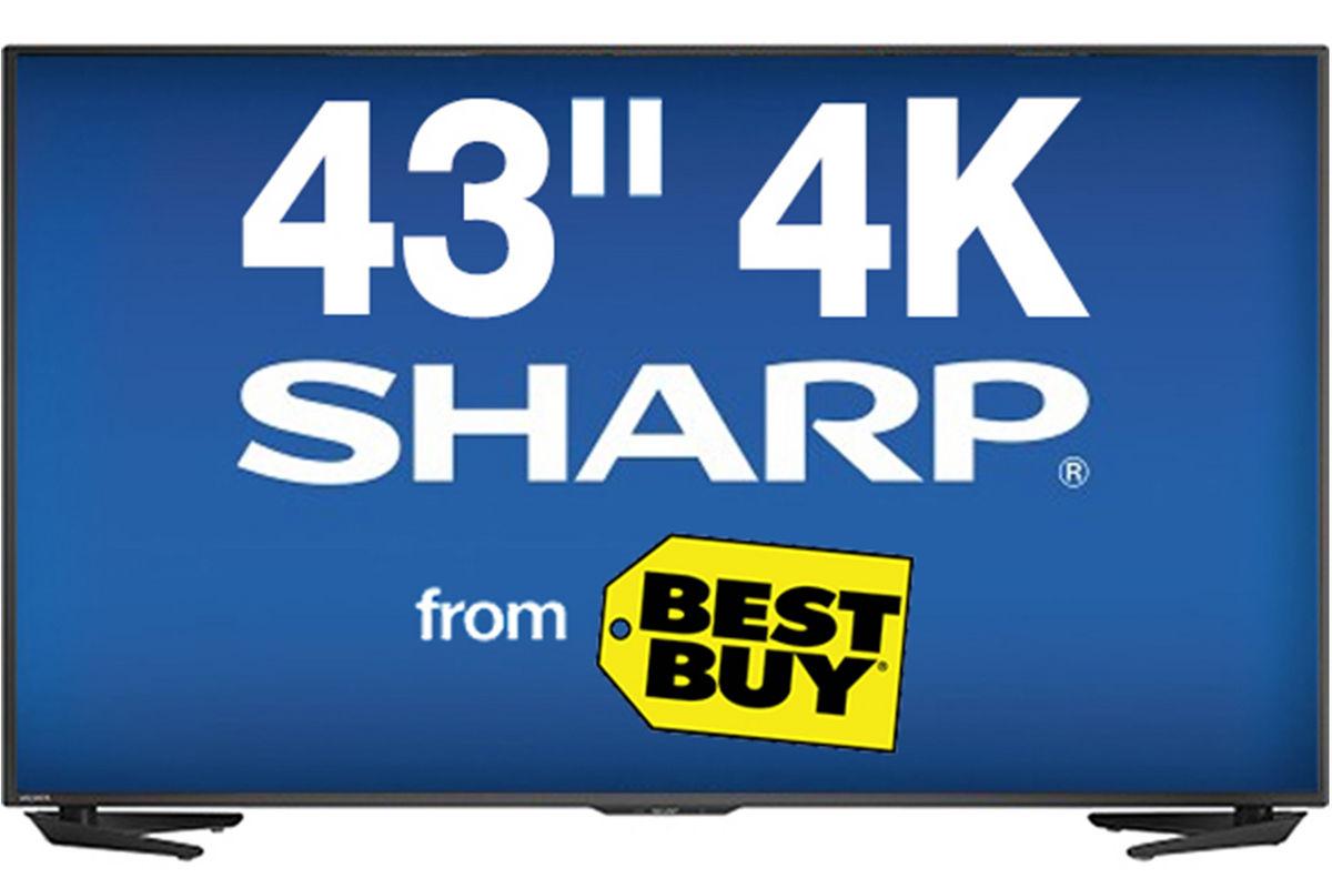 43 Quot Sharp Smart 4k Led Tv At Gardner White