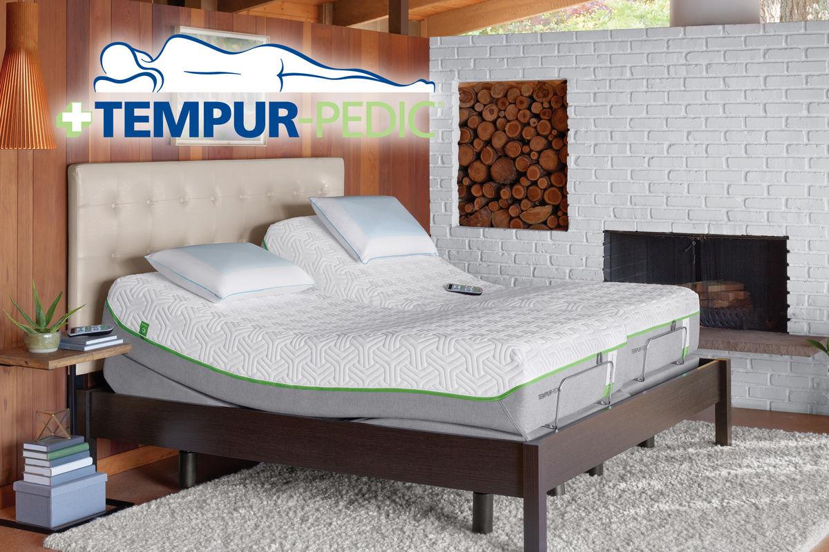 tempur ergo premier u2122 twin xl    king split adjustable