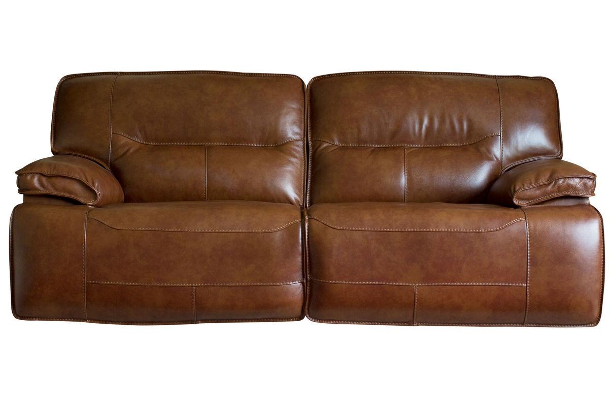 Drake Leather Power Reclining Sofa At Gardner White
