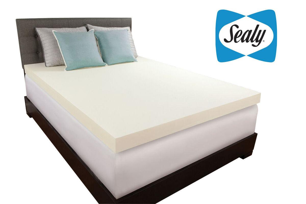 """Sealy 3"""" Twin Memory Foam Topper"""