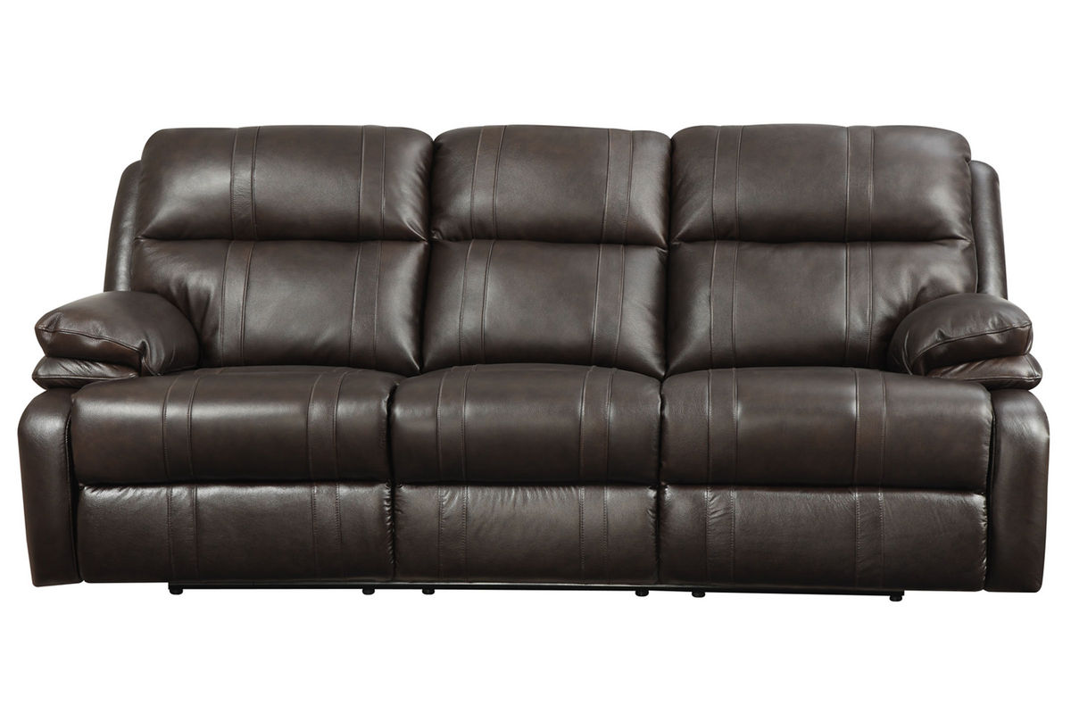 Houston Leather Power Reclining Sofa