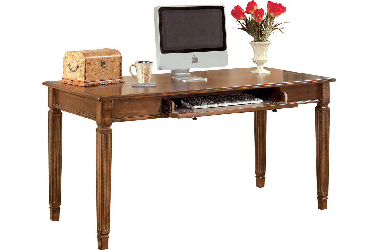 hamlyn home office large leg desk by ashley