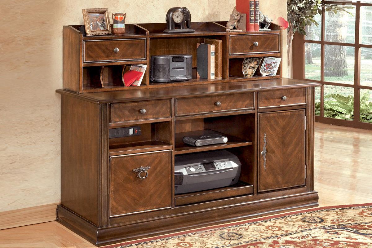Hamlyn Home fice Short Desk Hutch by Ashley Hutch ly