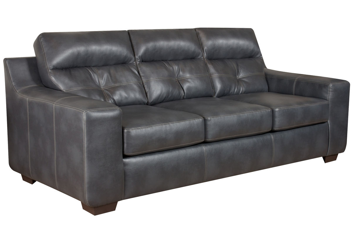 Oregon Bonded Leather Sofa