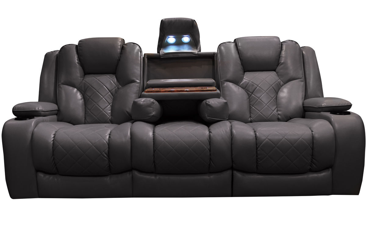 Bastille power reclining sofa with drop down table at gardner white Loveseats with console