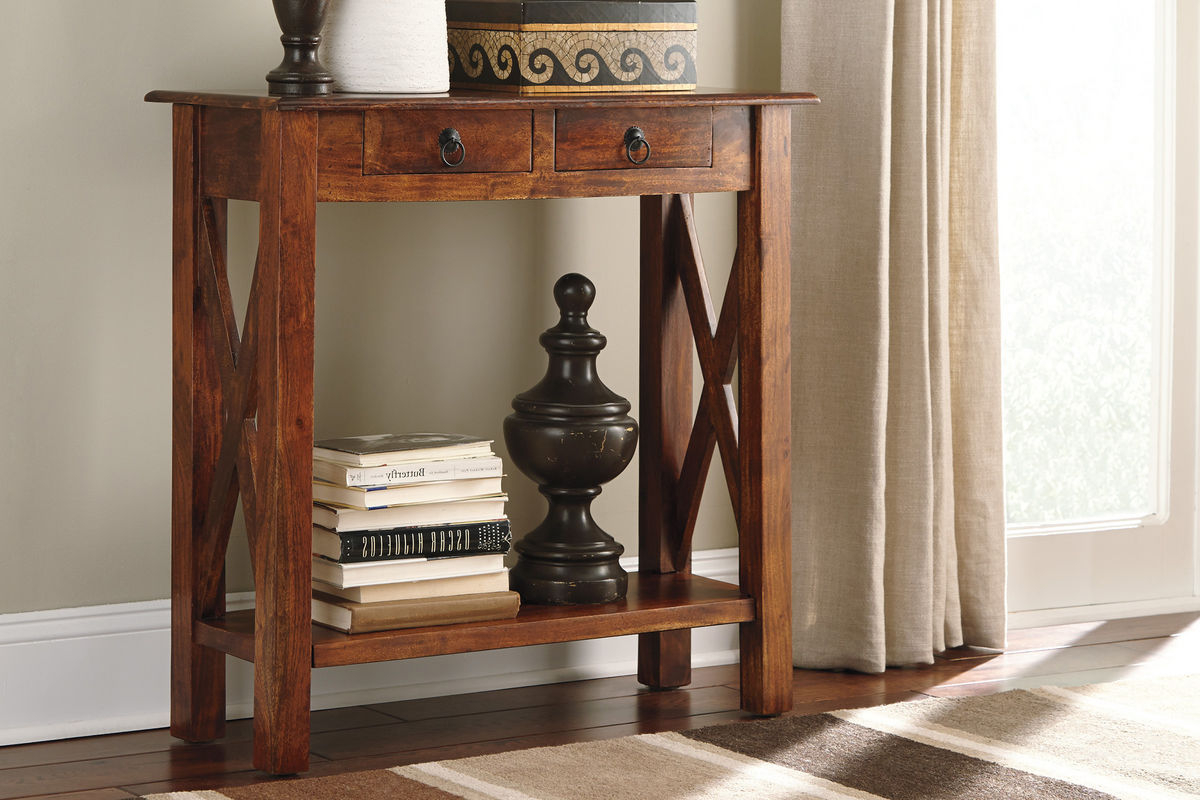 Abbonto Sofa Table By Ashley At Gardner White