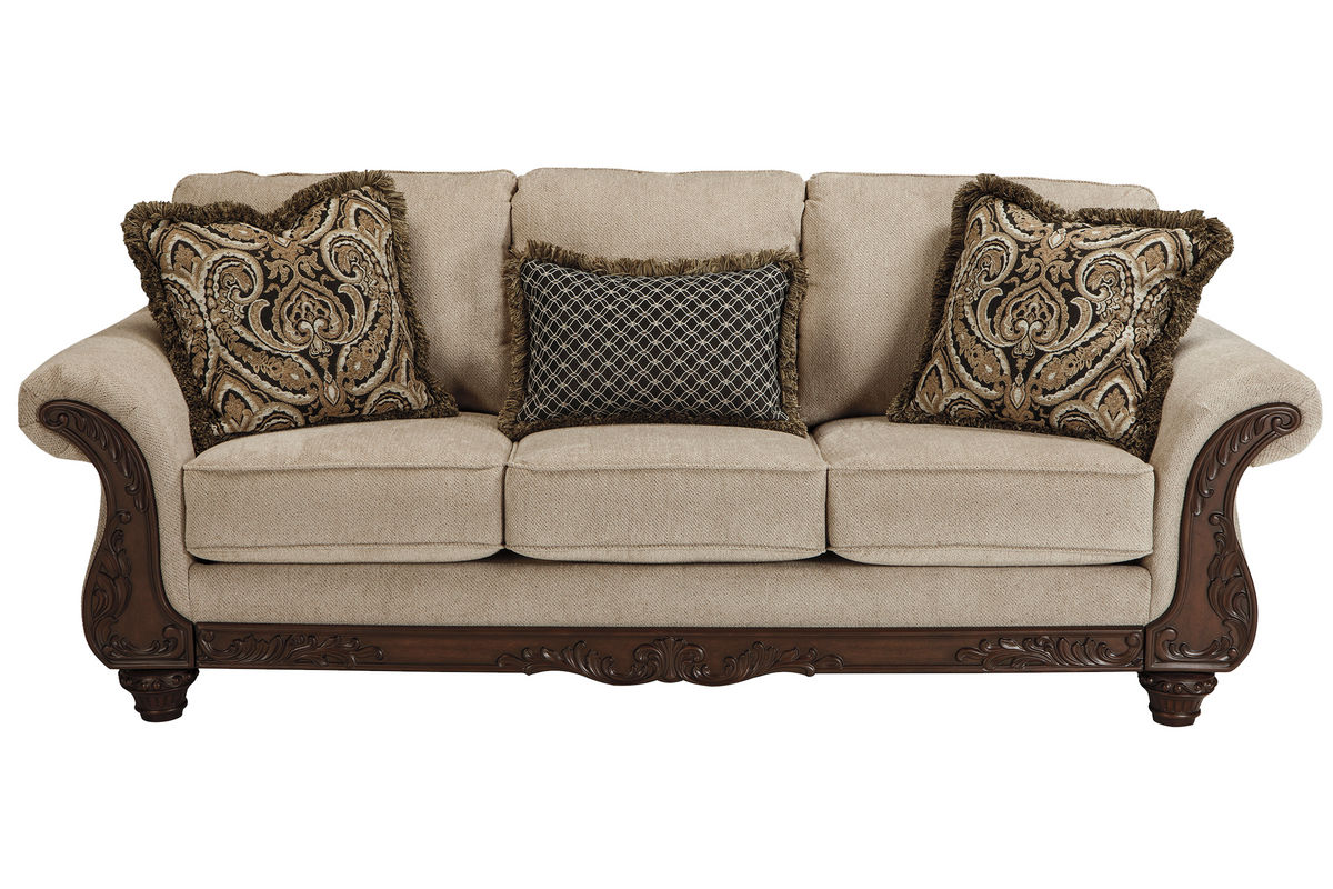 Layton delia chenille sofa at gardner white Chenille sofa and loveseat