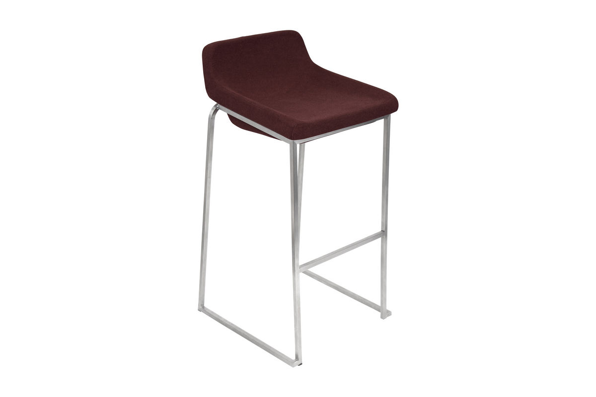 Drop In Burgundy Bar Stool By Lumisource Fdrop 161229 At