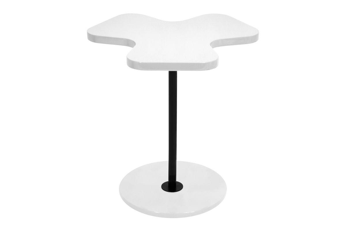 Clover white side table by lumisource at gardner white for 126 incorrect key file for table