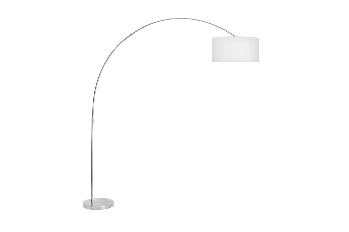 Salon white floor lamp by lumisource at gardner white for Lumisource salon floor lamp in white