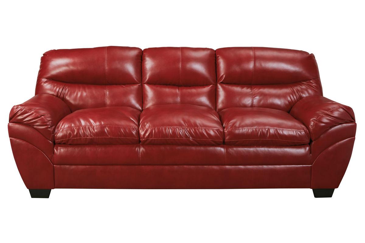Carlton Bonded Leather Sofa At Gardner White