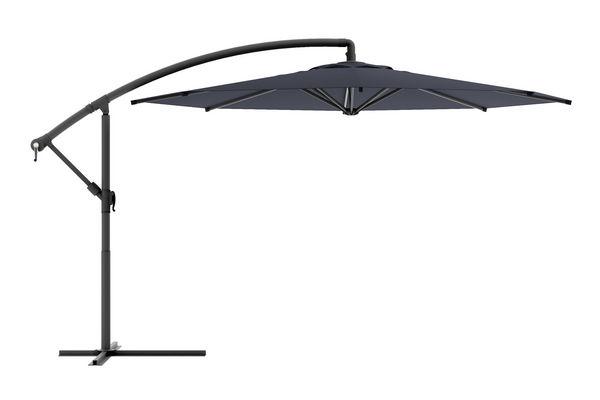 Black & White Offset Umbrella 90