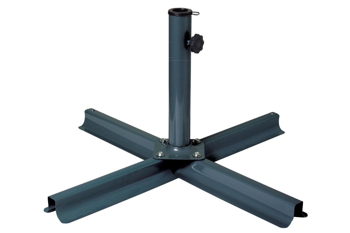 Grey Black Patio Umbrella Stand At Gardner White
