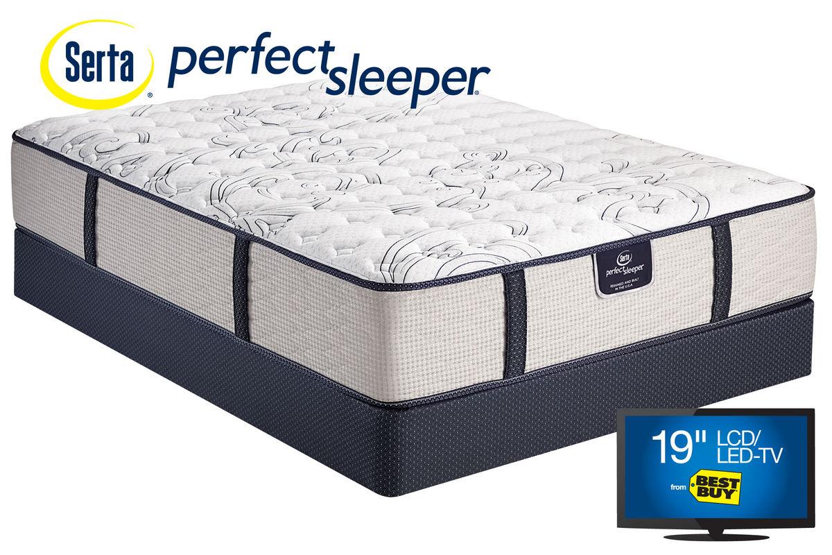Serta Perfect Sleeper 174 Dunkin Firm Queen Mattress At