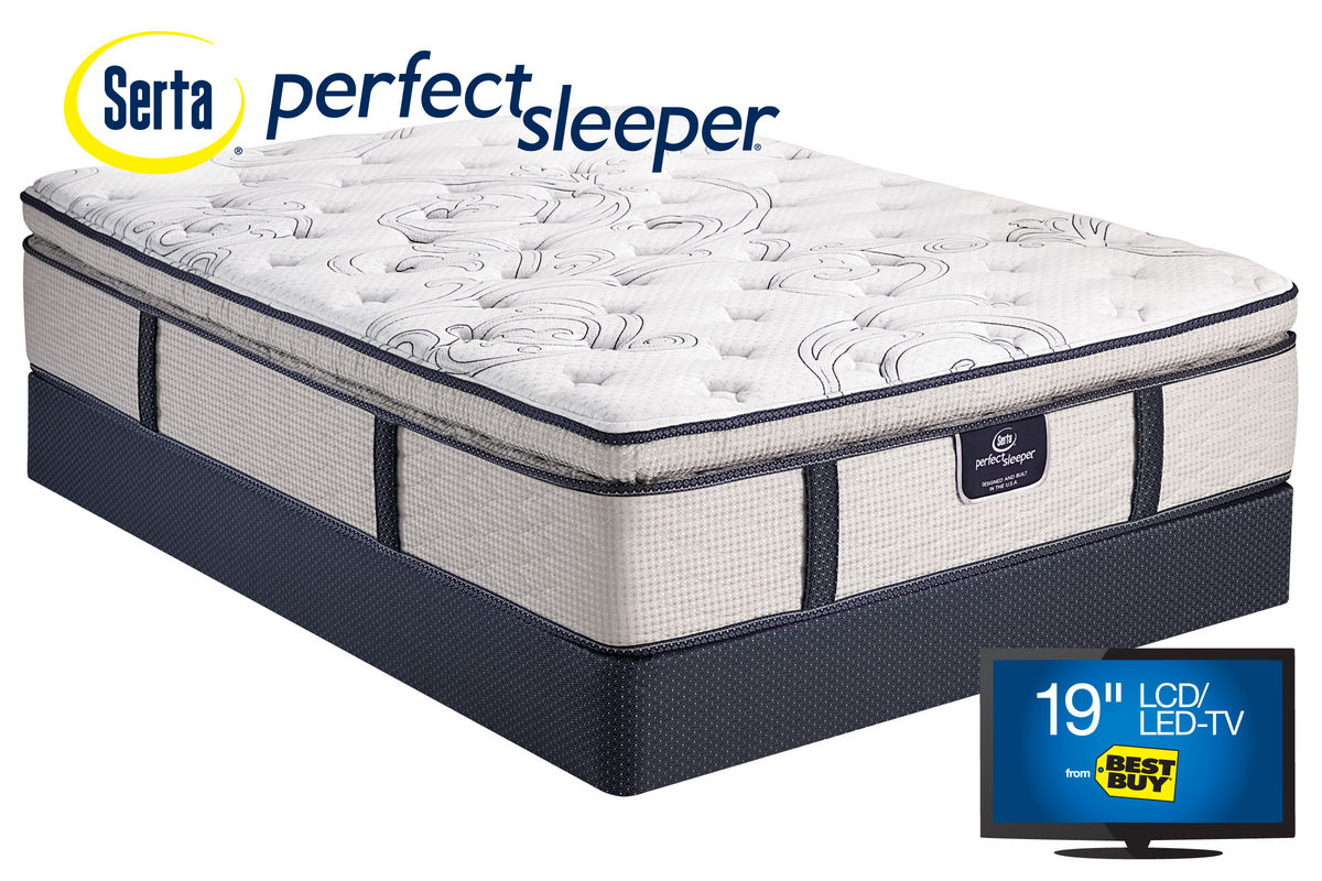 Serta Perfect Sleeper® Dunkin Pillow Top Queen Mattress from Gardner-White  Furniture