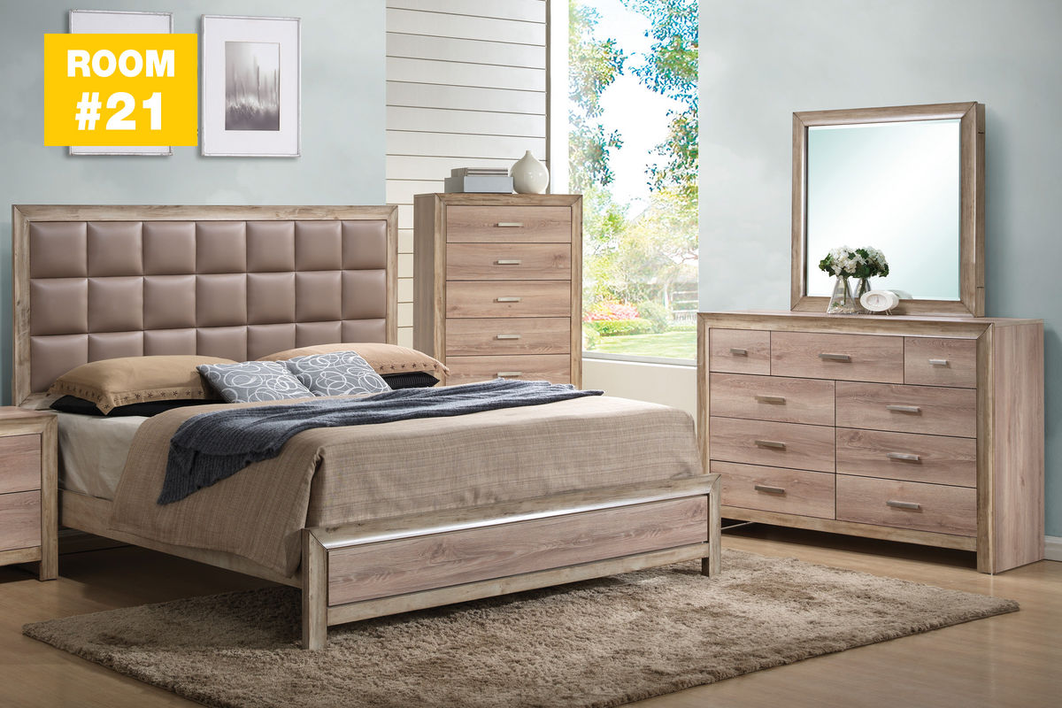 21 sawyer 4 piece bedroom set