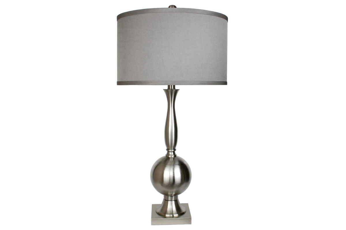 Brushed Nickle Table Lamp