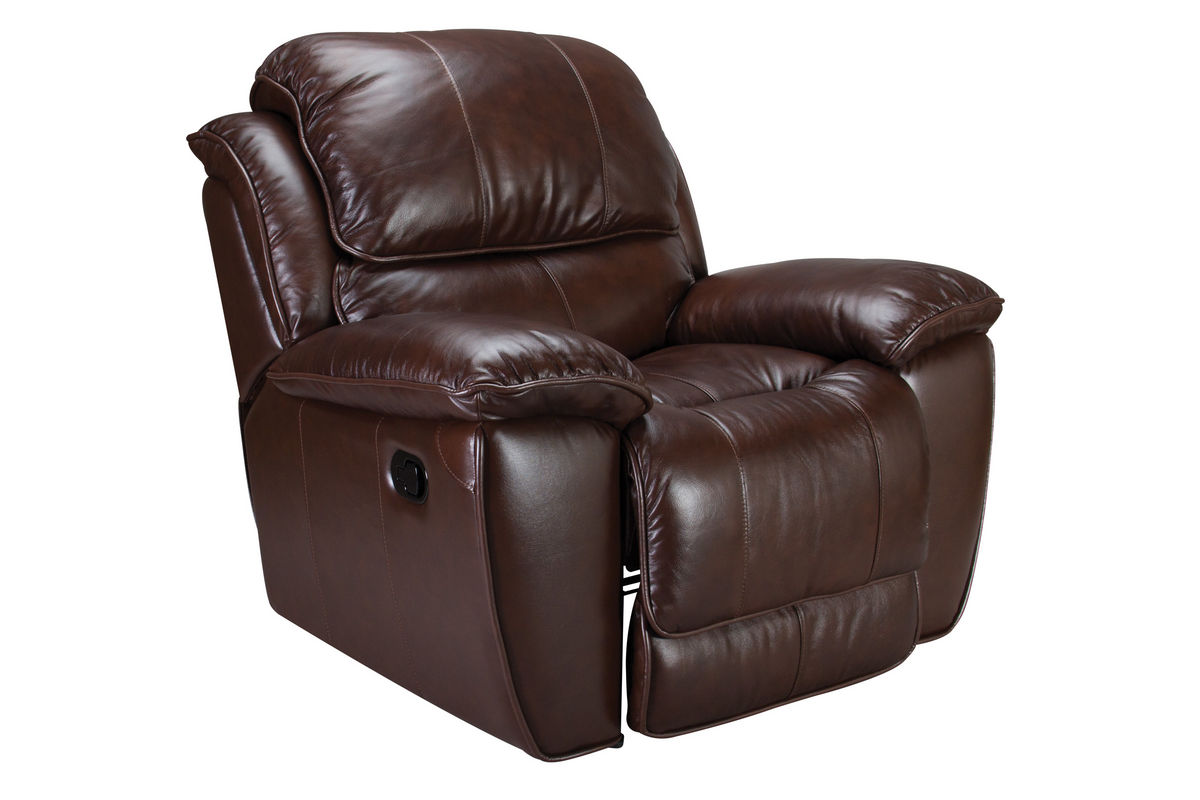 Crosby Leather Rocker Recliner At Gardner White