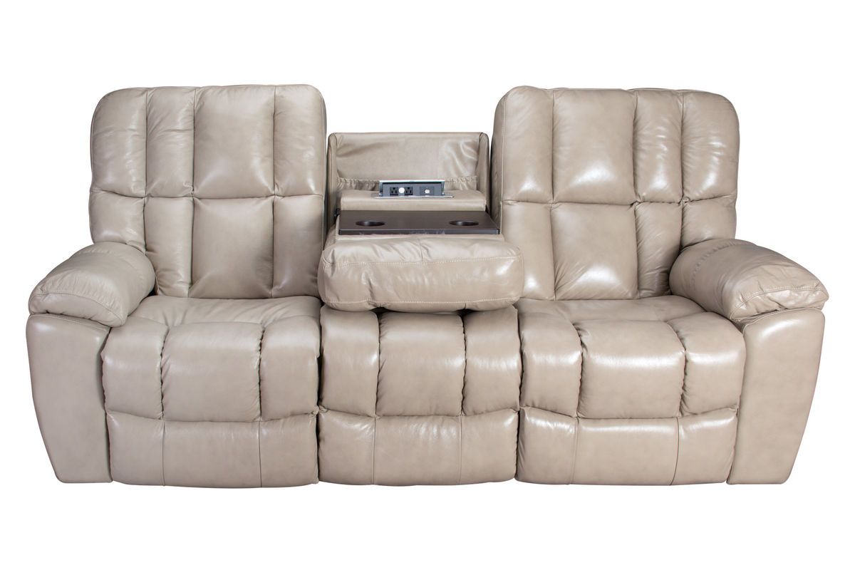 Toronto Gliding Reclining Sofa With Drop Down Table
