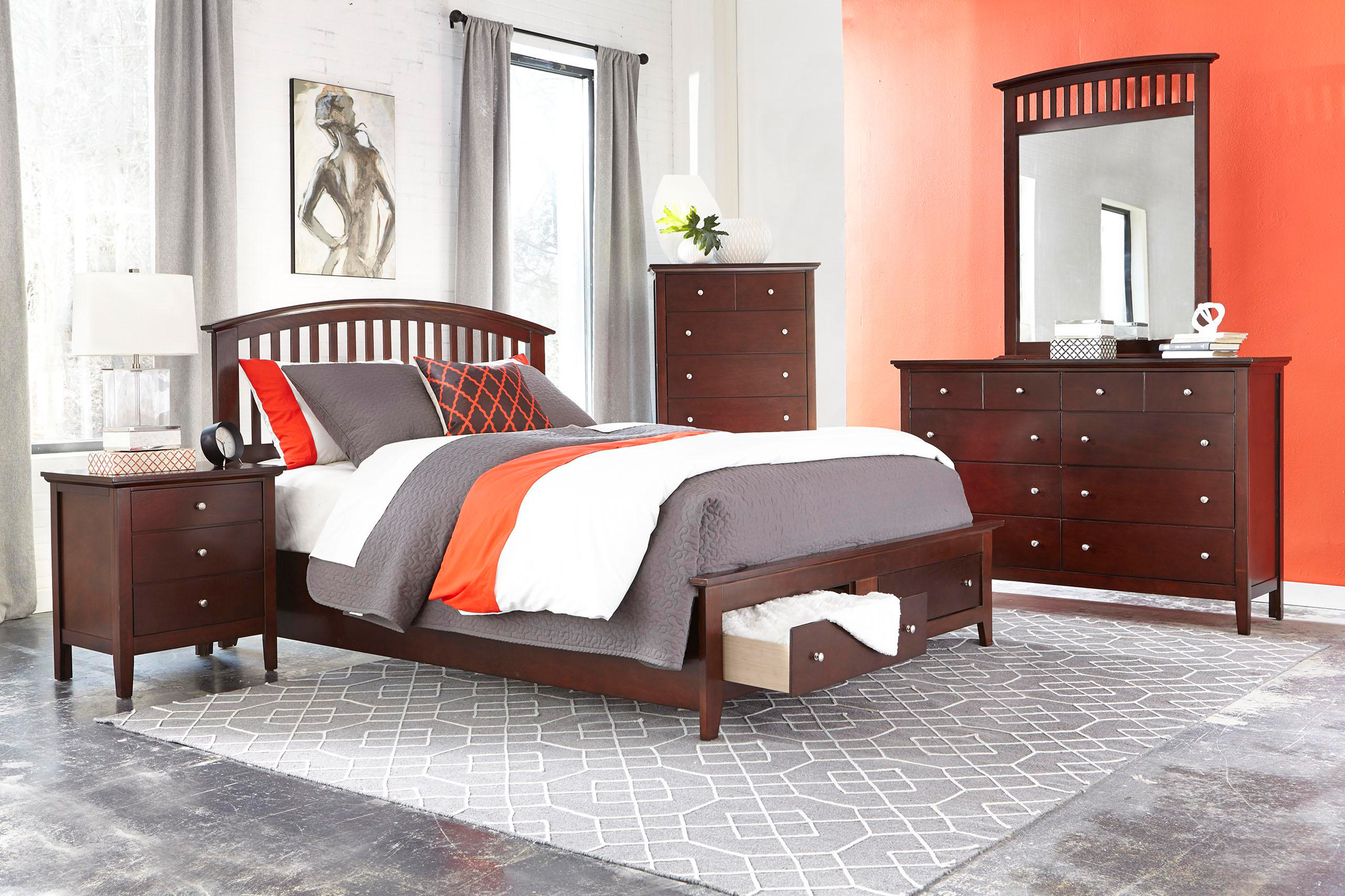 Mason Piece Queen Bedroom Set