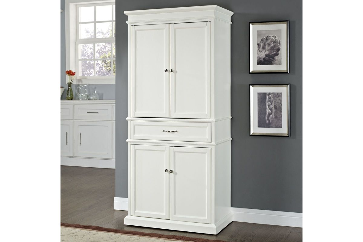 Parsons Pantry In White By Crosley At Gardner White