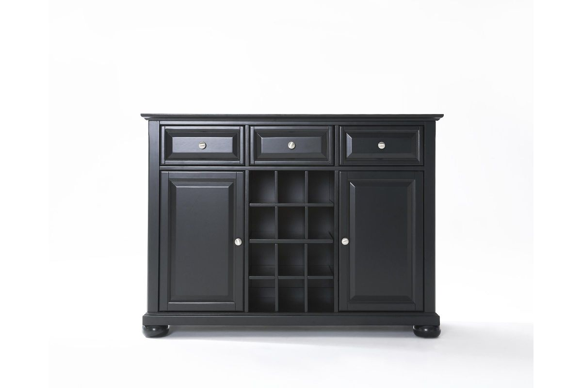 Alexandria Buffet Server / Sideboard Cabinet with Wine Storage in ...