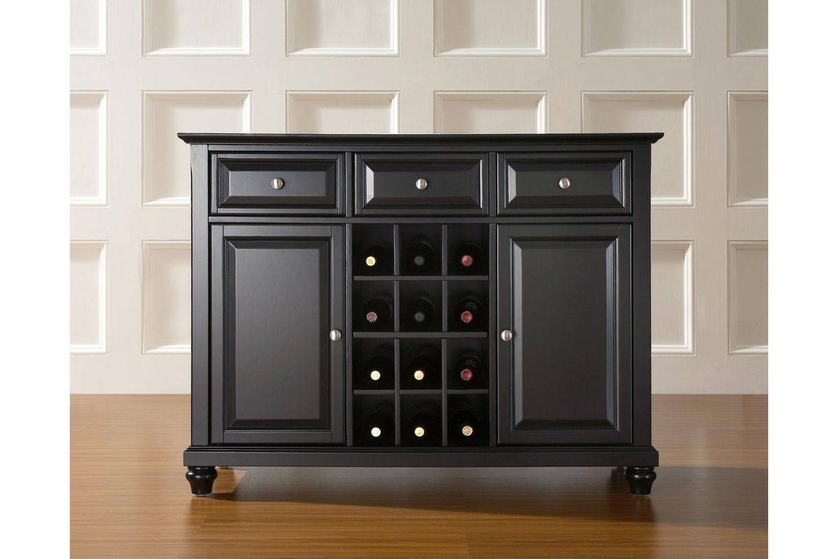 Cambridge Buffet Server Sideboard Cabinet With Wine