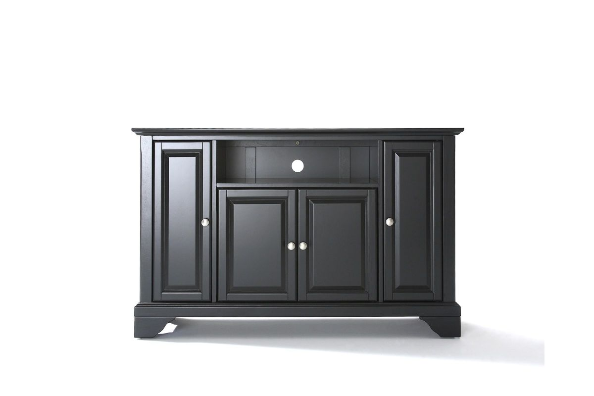 Lafayette 48 Tv Stand In Black Finish By Crosley At Gardner White