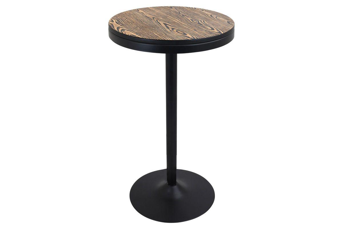 Dakota Industrial Adjustable Bar Dinette Table By Lumisource