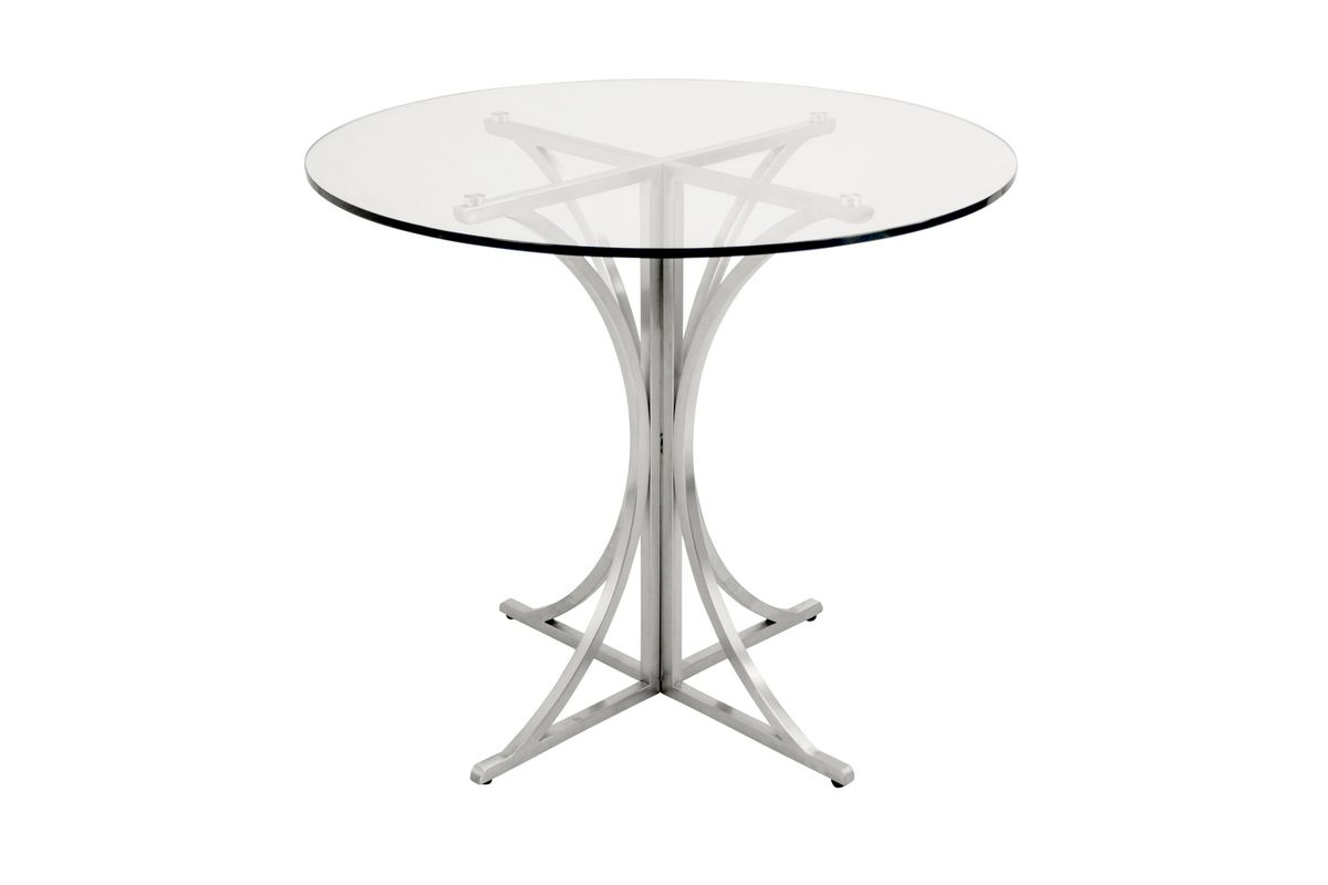 Boro Dining Table In Silver By Lumisource At Gardner White