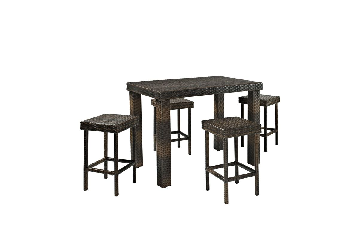 HD wallpapers crosley outdoor palm harbor 5 piece outdoor wicker high dining set Page 2