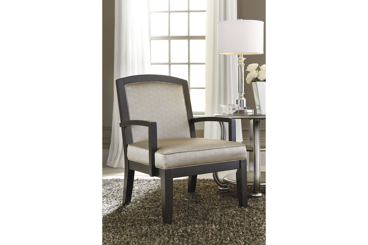 Lemoore Accent Chair in Fog by Ashley