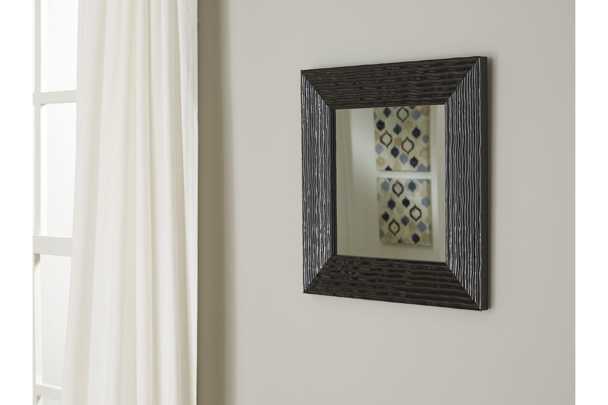 Odelyn Accent Mirror In Black By Ashley At Gardner White