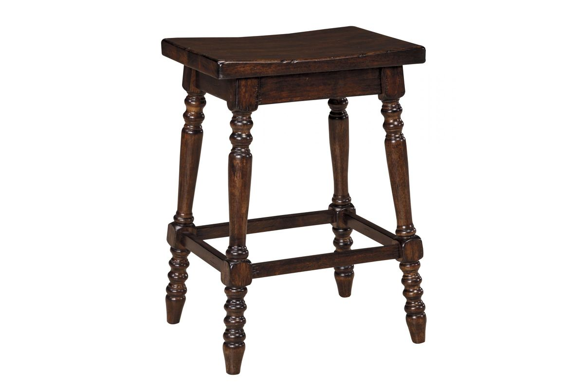 Moriann Stools In Dark Brown Set Of 2 By Ashley At