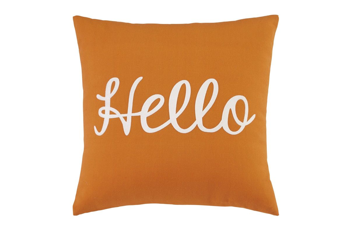 Shapeleigh Pillow In Orange By Ashley Fdrop 170629 At