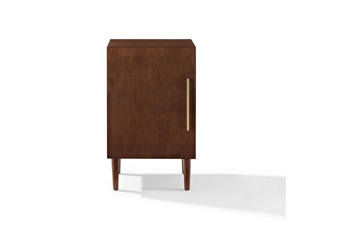 Everett Record Player Stand In Mahogany By Crosley At