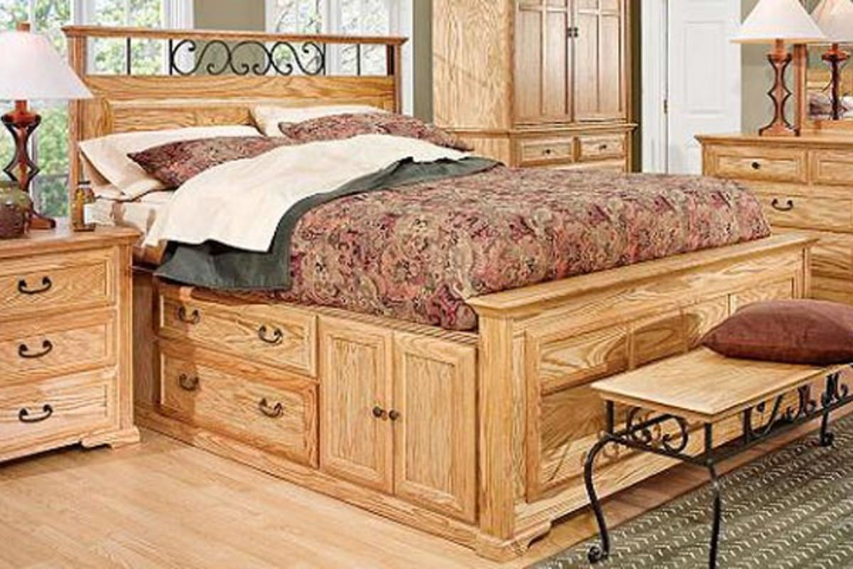 Kitchen Cabinets Store Thornwood King Size Captain Bed With Storage At Gardner White