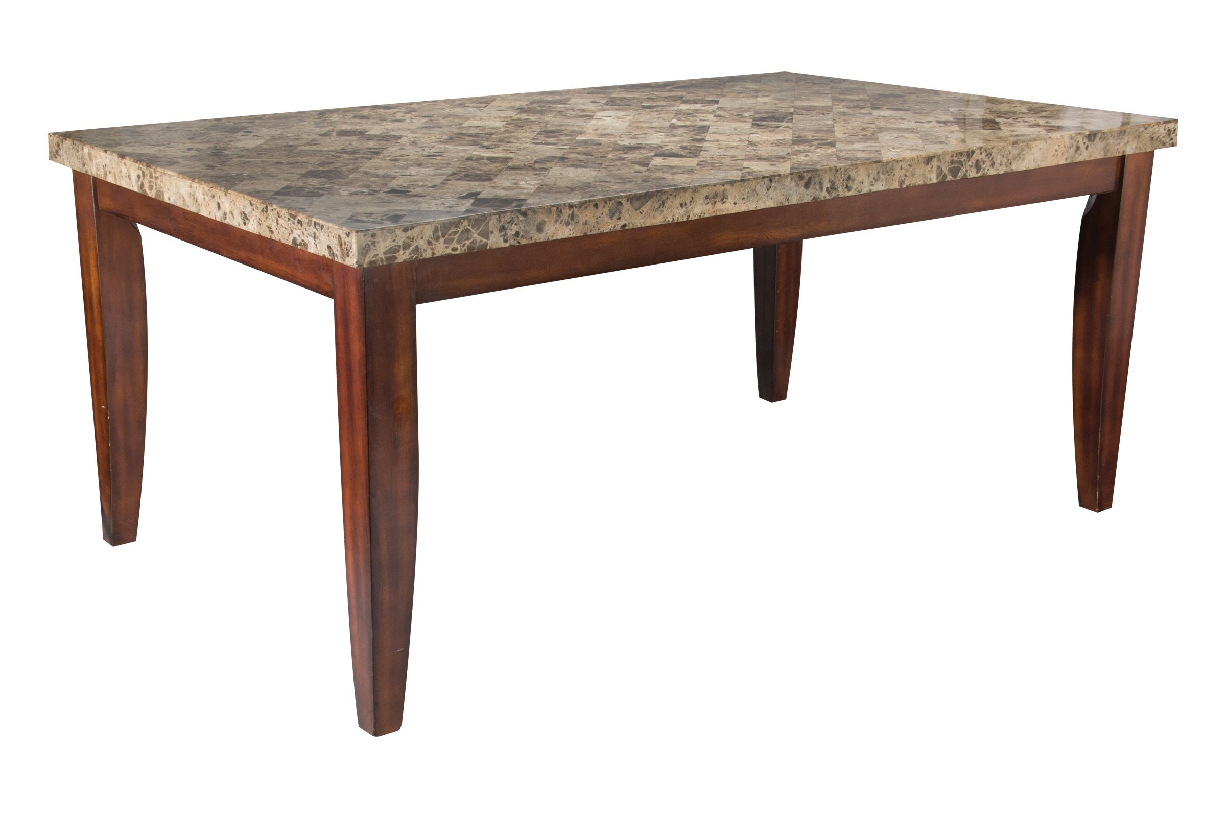 Montibello Marble Conventional Dining Table