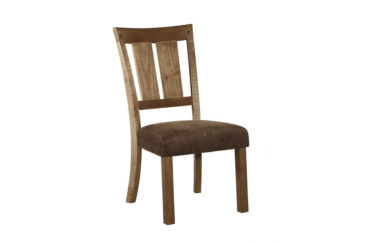 Tamilo Dining Side Chairs In Dark Brown Set Of 2 By Ashley